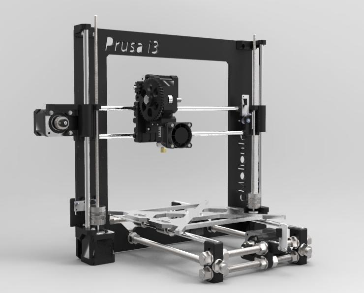 RepRap Prusa I3 Complete Kit